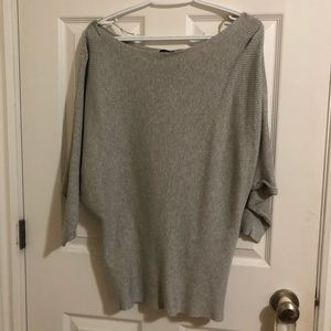 Casual or dress up grey long sleeve